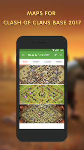 screenshot of Maps for clash of clans base version 1.2