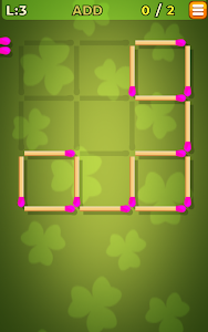 screenshot of Matches Puzzle Game version 1.18