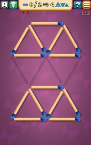 screenshot of Matches Puzzle Game version Varies with device