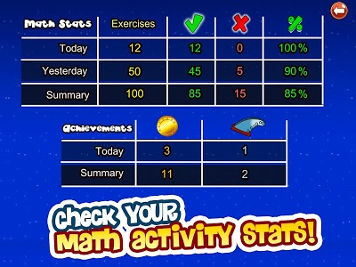 screenshot of Monster Numbers: Math Games for kids version Varies with device