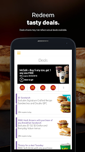 screenshot of McDonald's version 5.18.0