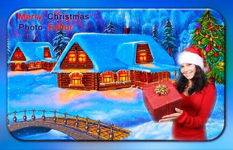 screenshot of Merry Christmas Photo Editor - Photo Frames version 1.5