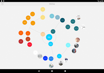 screenshot of Mindly (mind mapping) version 1.16