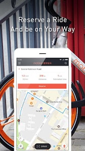 screenshot of Mobike - Smart Bike Sharing version 5.4.5