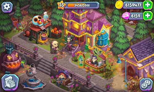 screenshot of Monster Farm: Happy Ghost Village & Witch Mansion version 1.28