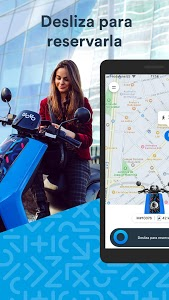 screenshot of Movo - Motosharing and electric scooters version 2.2.1