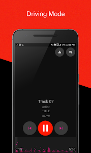 screenshot of Music Player version 1.8.1