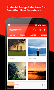 screenshot of Music Player version 1.5.5