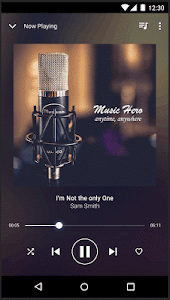 screenshot of Music Player - Mp3 Player version 1.2.4
