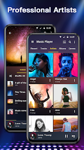 screenshot of Music Player & Audio Player - 10 Bands Equalizer version 1.1.5
