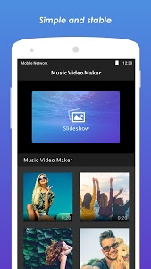 screenshot of Music Video Maker version 2.1.0.22