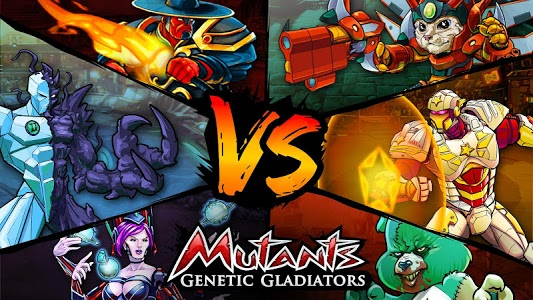 screenshot of Mutants Genetic Gladiators version 26.160.149782