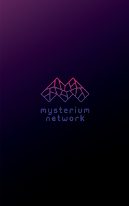 screenshot of MysteriumVPN: Free VPN to Unblock Access (Alpha) version 0.8.2