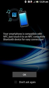 screenshot of NFC Easy Connect version 1.0.01
