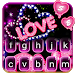 Neon Love Keyboard Theme