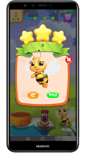 screenshot of New Bubble Shooter Adventure Bee Bubble version 1.4.0