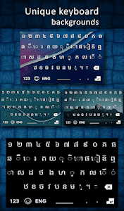 screenshot of New Khmer Keyboard 2020 version 1.2.1