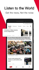 screenshot of News Republic - Breaking and Trending News version 10.7.3.01