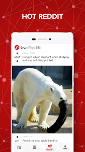 screenshot of News Republic – Breaking news version 6.9.2