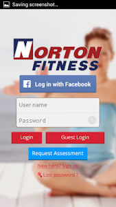 screenshot of Norton Fitness version 1.2