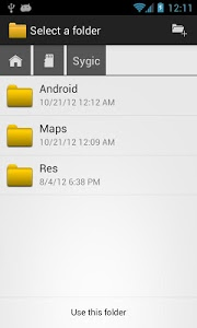 screenshot of OI File Manager version 2.2.2