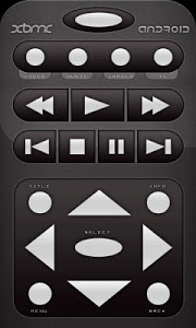 screenshot of Official XBMC Remote version 1.0.9
