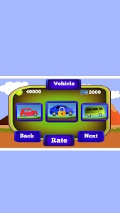 screenshot of Offroad Hilly Car Racing version 0.2