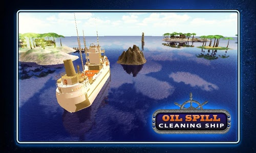 screenshot of Oil Spill Cleaning Ship version 1.1.0