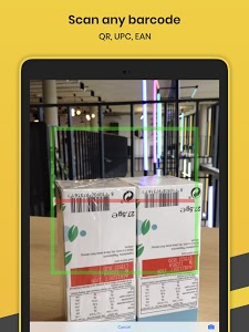 screenshot of Orca Scan - Barcode Scanner to Excel Spreadsheet version 2.4.5