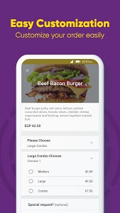 screenshot of Otlob - Food Delivery version 5.5.5
