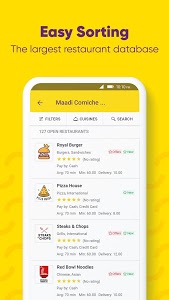 screenshot of Otlob - Food Delivery version 5.3.0