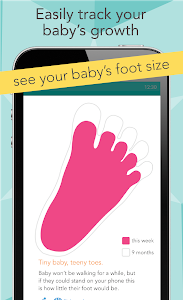 screenshot of Ovia Pregnancy Tracker: Baby Due Date Countdown version Varies with device