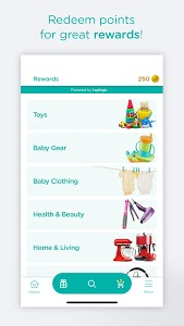 screenshot of Pampers Club: Gifts for Babies & Parents version 3.7.9