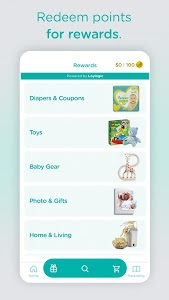 screenshot of Pampers Club: Gifts for Babies & Parents version 3.8.0
