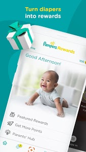 screenshot of Pampers Club: Gifts for Babies & Parents version 3.6.10