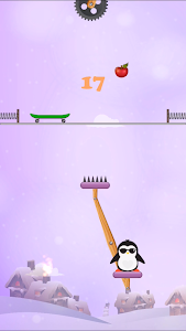 screenshot of Penguin Jump version 1.2.8