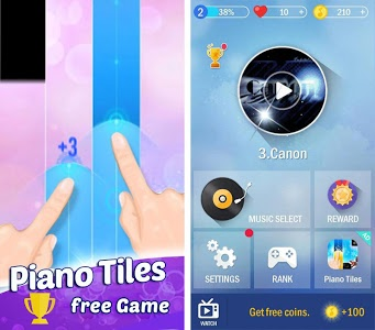 screenshot of Piano Tiles Music Band version 1.2