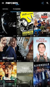 screenshot of Popcorn Time - Free Movies & TV Shows version 2.0
