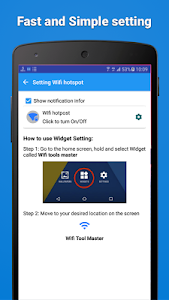 screenshot of Wifi Hotspot Free - SunoWifi version 1.1.3
