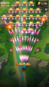 screenshot of Poultry Shoot Blast: Free Space Shooter version 2.0.2