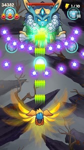 screenshot of Poultry Shoot Blaster: Free Space Shooter version 1.6.10