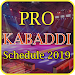 Download Kabaddi Schedule 2019 9.0 APK