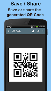 screenshot of QR Code Generator version 1.1.5