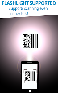 screenshot of Ad Free)QR Scanner for Android version 0.9