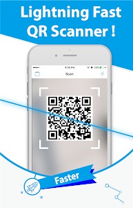 screenshot of Free QR Scanner: Bar code reader & QR Scanner version 0.58