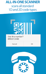 screenshot of Ad Free)QR Scanner for Android version 0.17
