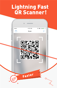 screenshot of Free QR Scanner/QR Code Reader version 0.35