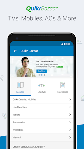 screenshot of Quikr – Search Jobs, Mobiles, Cars, Home Services version 10.06