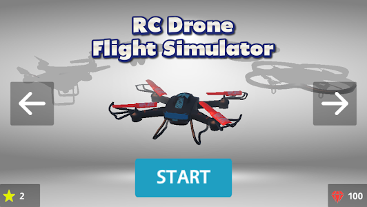 screenshot of RC Drone Flight Simulator 3D version 2.4