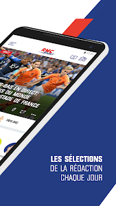 screenshot of RMC Sport News - Info Foot et Sport en direct version 4.2.1
